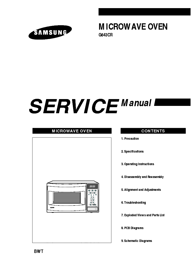 SAMSUNG G643CR Service Manual download, schematics, eeprom, repair info for electronics experts