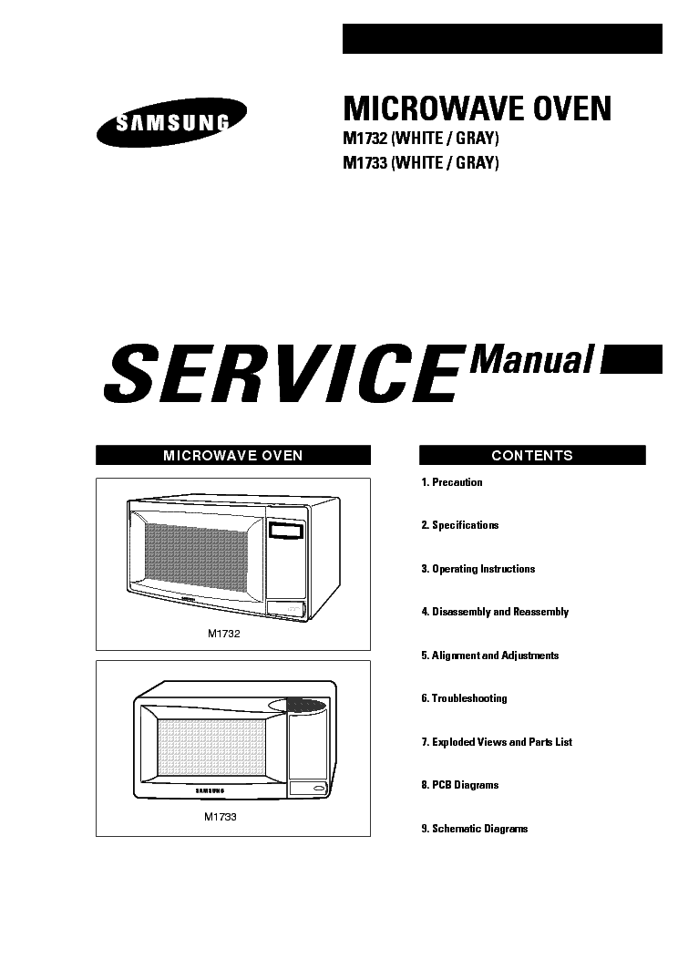 SAMSUNG CE-945G GT GF SM Service Manual free download