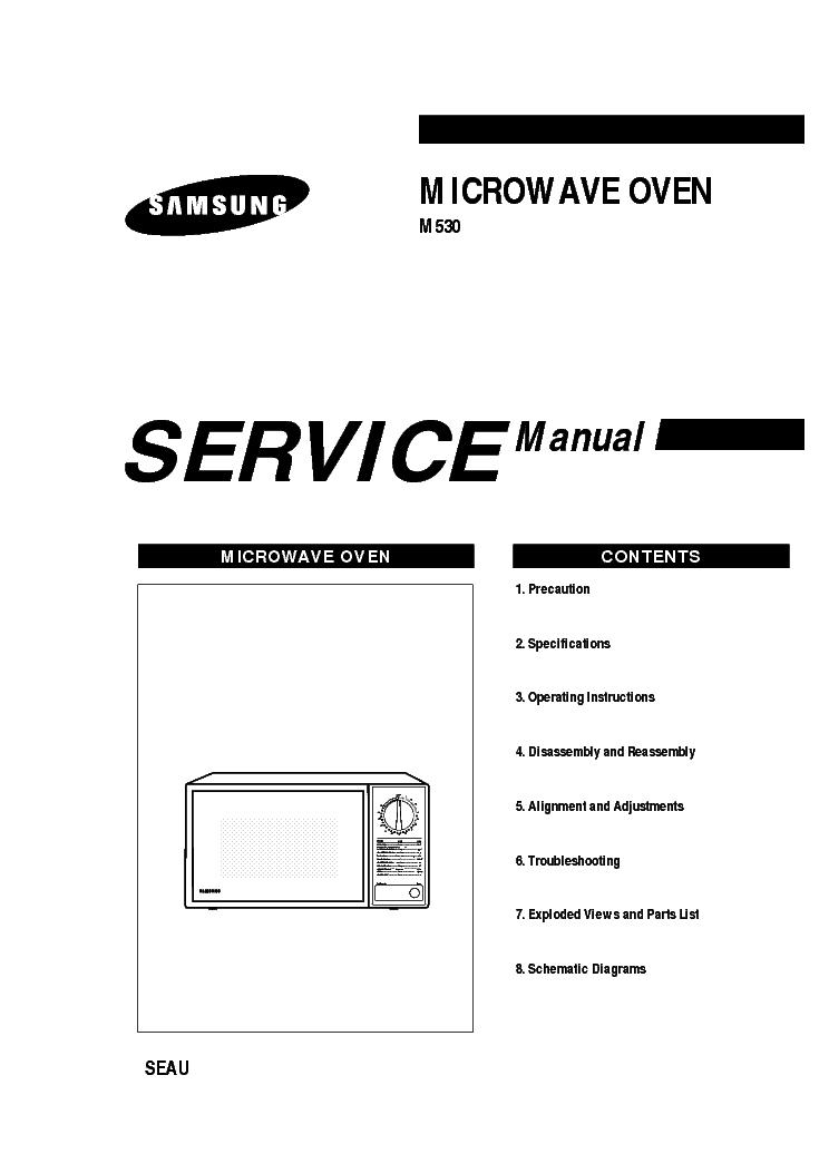 SAMSUNG M736 AM Service Manual download, schematics