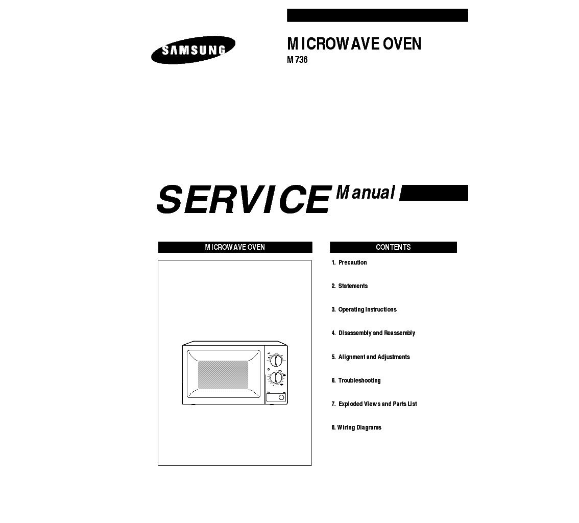 Microwave Oven Repair Manual PdfBestMicrowave
