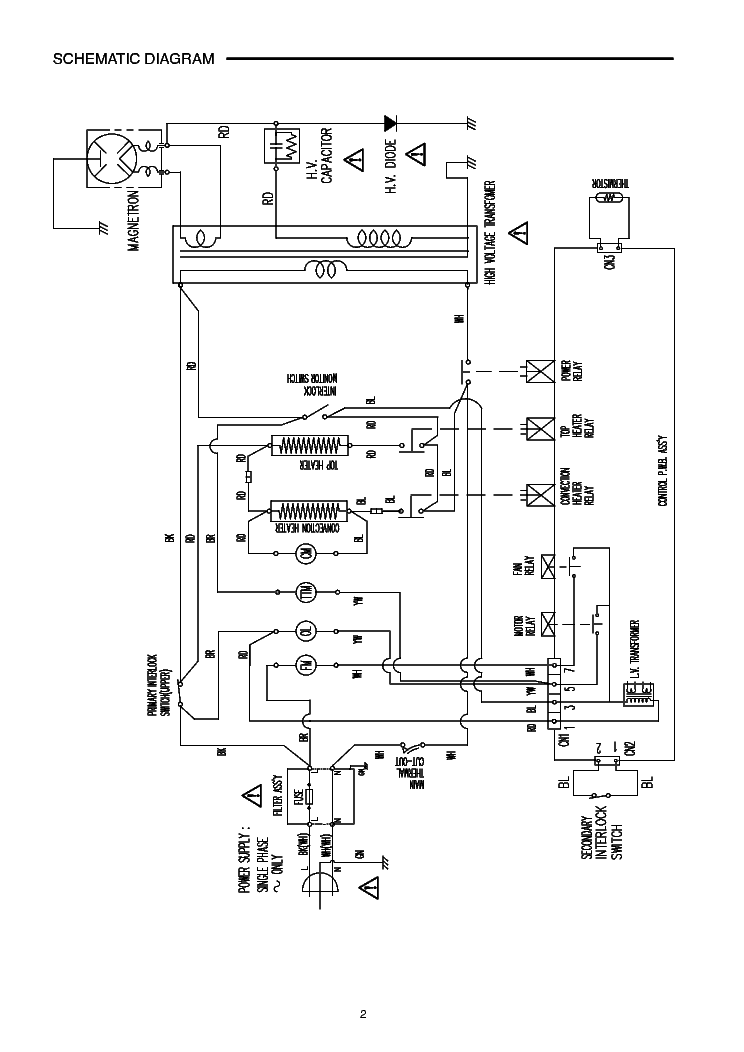 SANYO EM-C8787B MICOWAVEOVEN SM Service Manual download