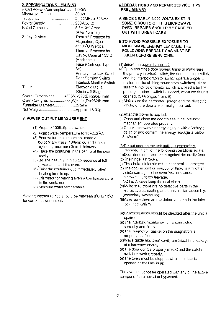SANYO SAP-KRV9AEH SAP-KRV12AEH SAP-CRV9AEH SAP-CRV12AEH SM