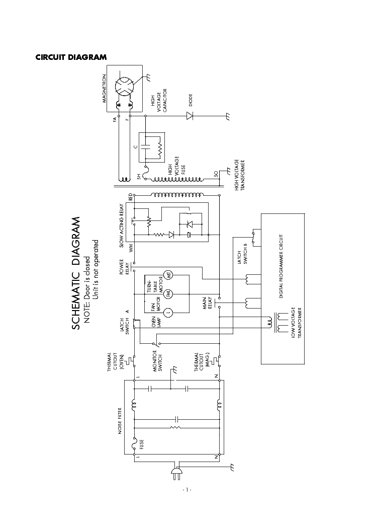 SANYO EM-S1563 SM Service Manual download, schematics