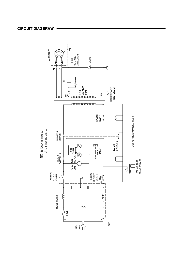 SANYO EM-S665S SM Service Manual download, schematics