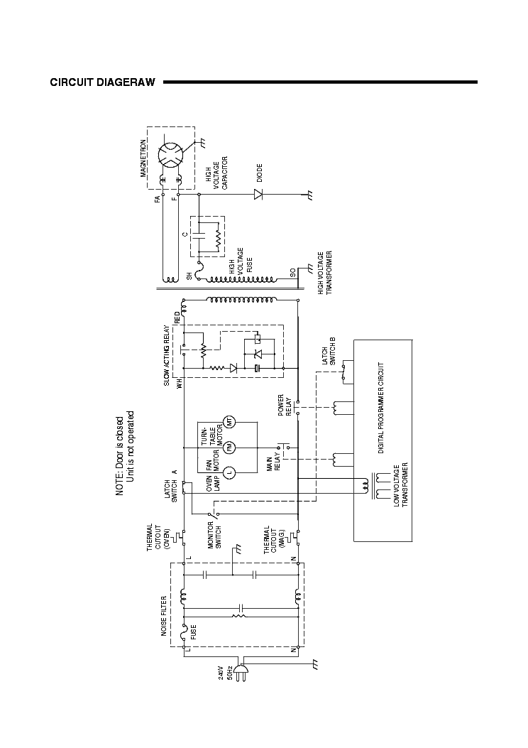 SANYO EM-S665W SM Service Manual download, schematics