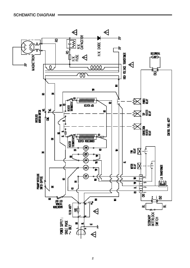 SANYO EM-SL60C SM Service Manual download, schematics