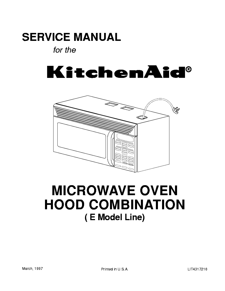 Kitchenaid Microwave: May 2016