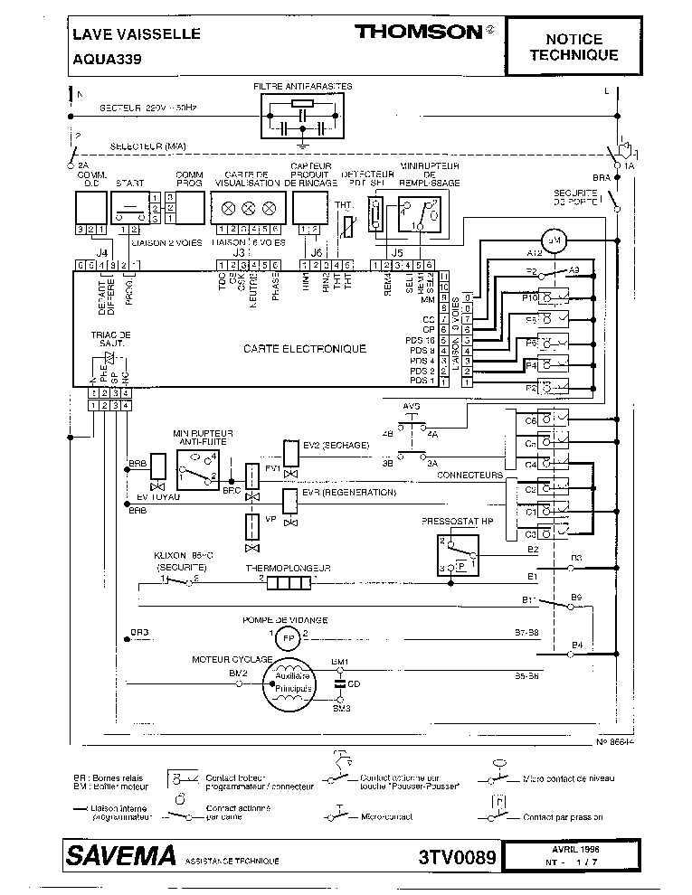 ELECTROLUX EWF800 Service Manual free download, schematics