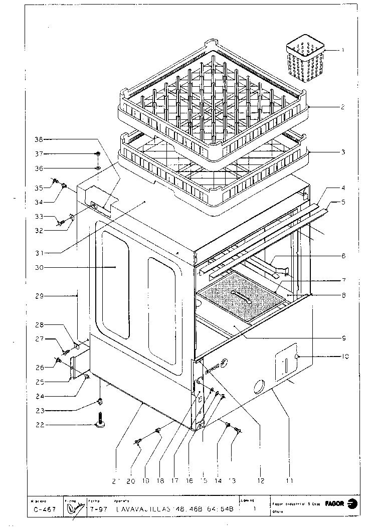FAGOR FI-48 FI-64,FI-64 W,FI-64 B 1999 Service Manual