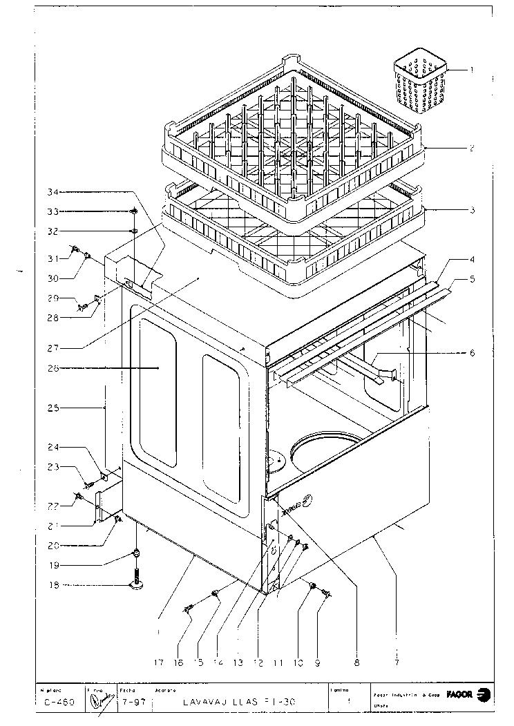 FAGOR FI 30 1997 Service Manual download, schematics