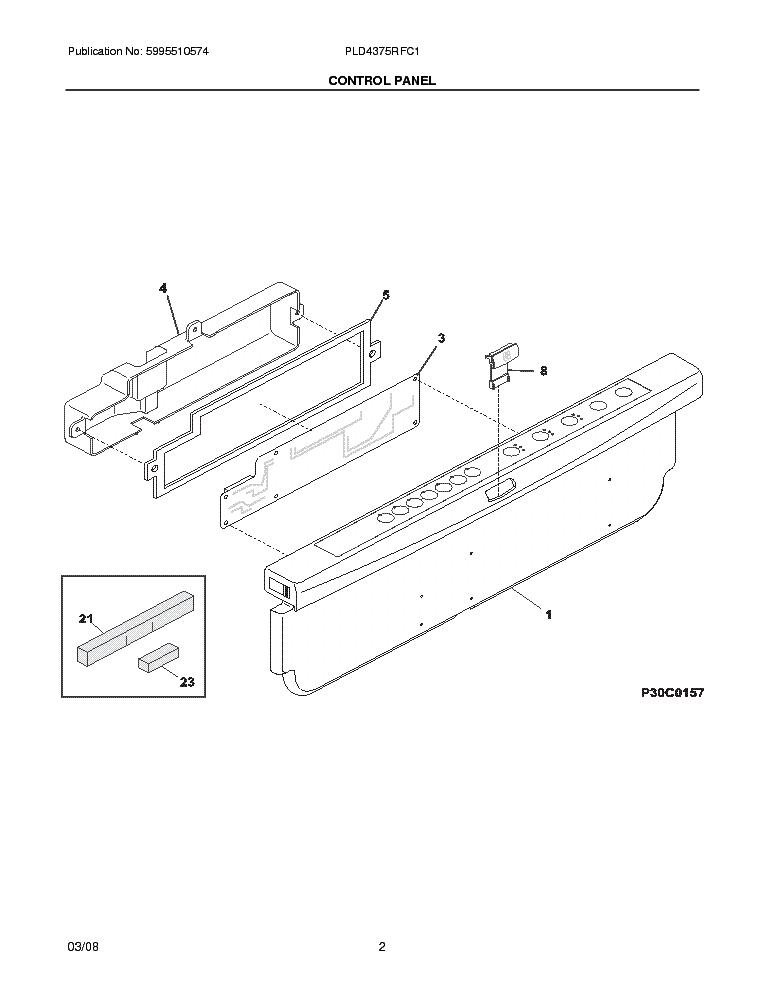 FRIGIDAIRE PLD4375RF Service Manual download, schematics