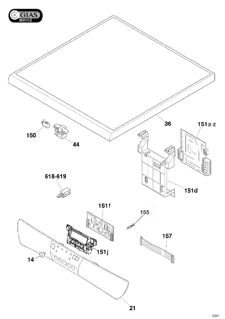 HOOVER HOD5G10 47 Service Manual download, schematics