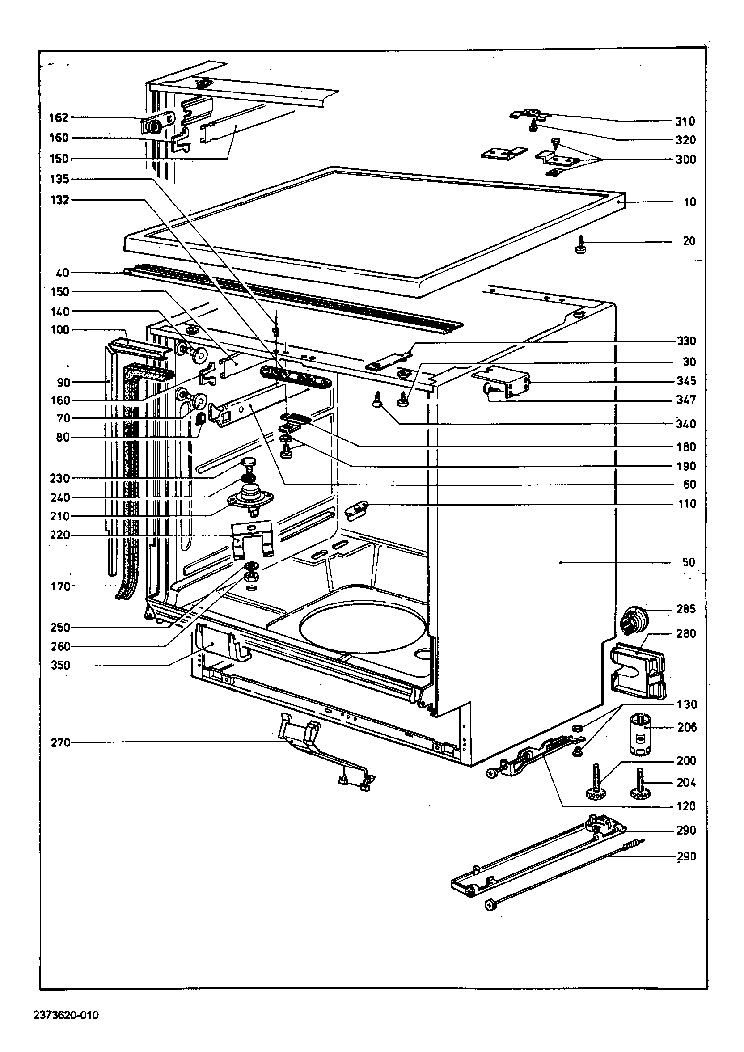 MIELE G579 DISHWASHER Service Manual download, schematics