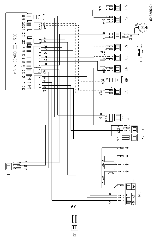 ZANUSSI ZDF 200 SM Service Manual download, schematics