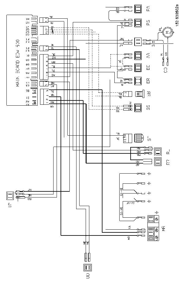 ZANUSSI ZDF 200 SM Service Manual download, schematics