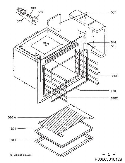 ELECTROLUX EOB3300X Service Manual download, schematics