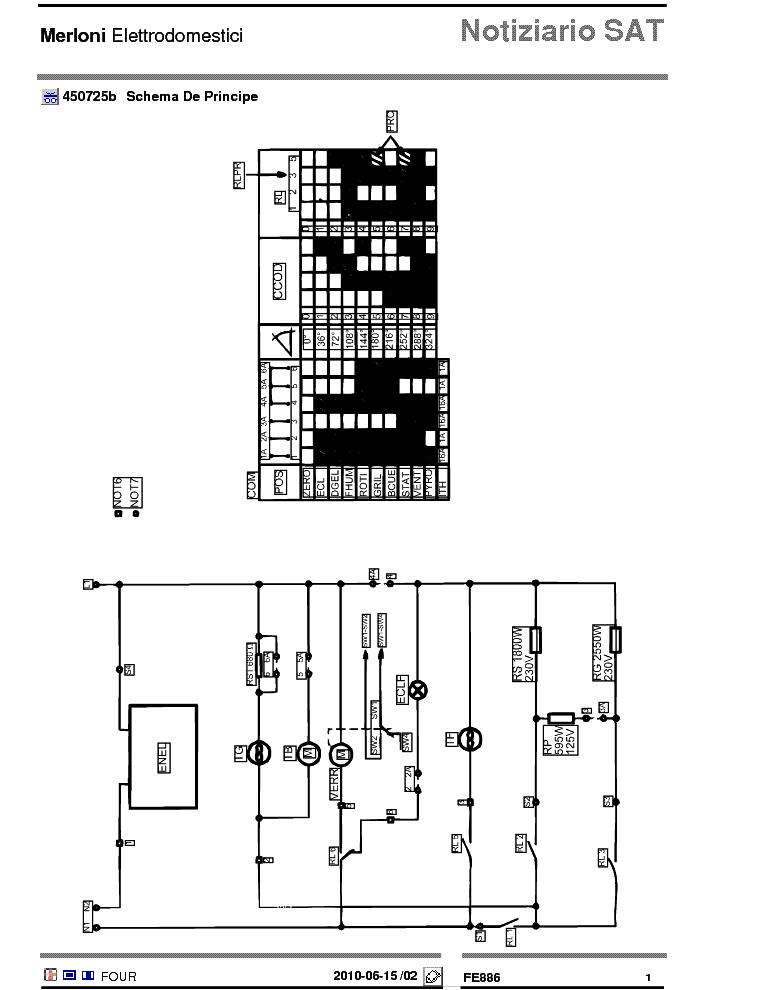 ELECTROLUX FE886 SCH Service Manual download, schematics