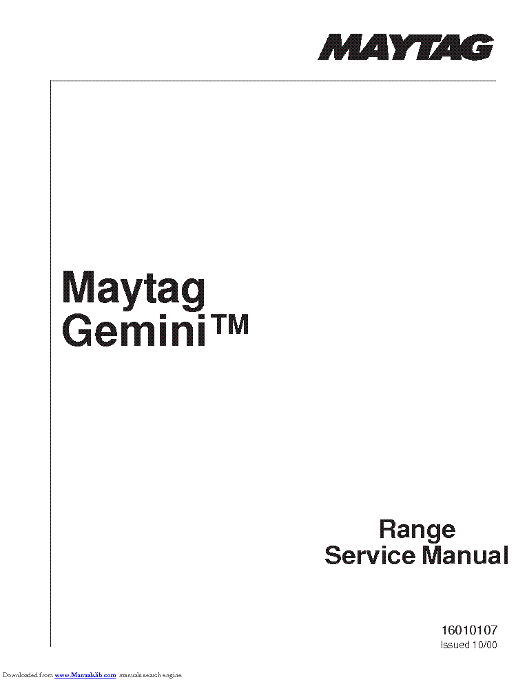 MAYTAG MAH22 WIRING-DIAGRAM Service Manual download