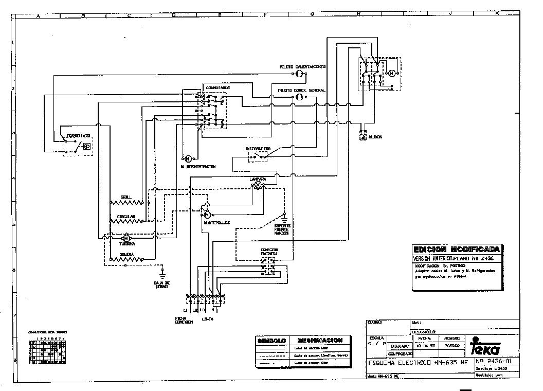 TEKA HM-635 ME Service Manual download, schematics, eeprom