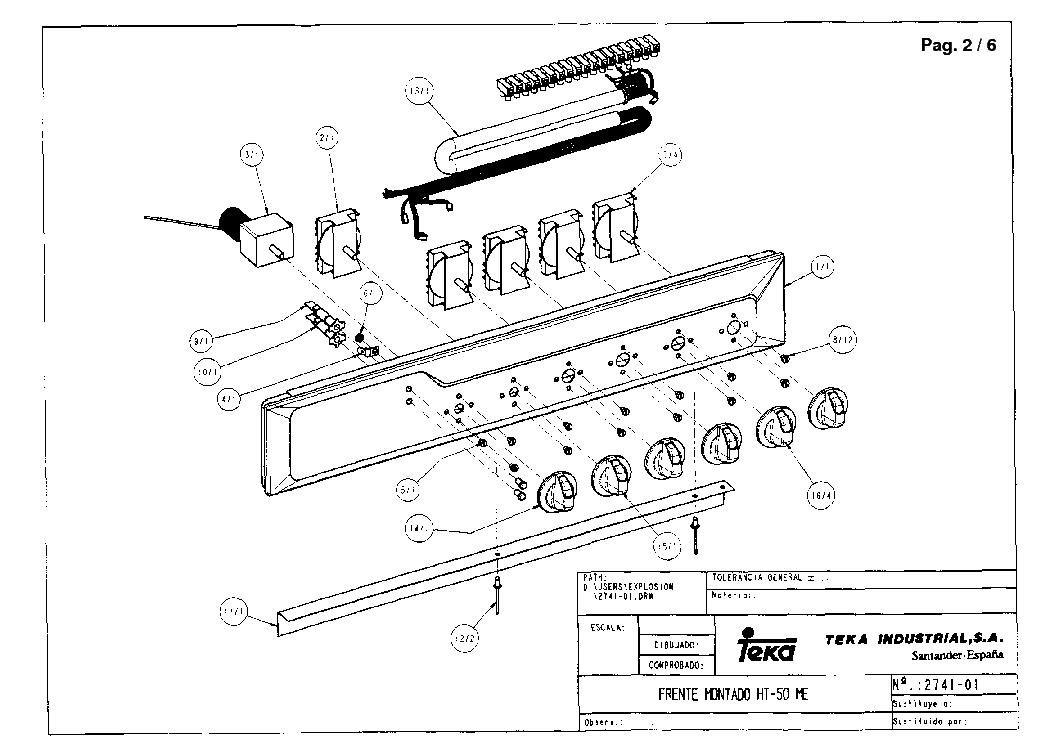 TEKA HT-50 ME 847 Service Manual download, schematics