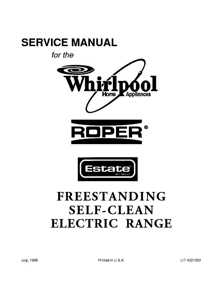 WHIRLPOOL AWZ420 Service Manual download, schematics