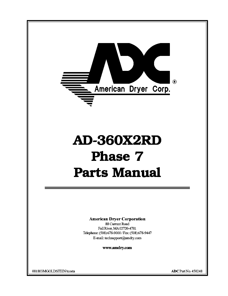 ADC SL50-SL75 Service Manual download, schematics, eeprom