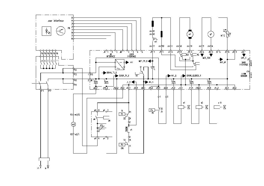 AEG LAVAMAT SL Service Manual download, schematics, eeprom