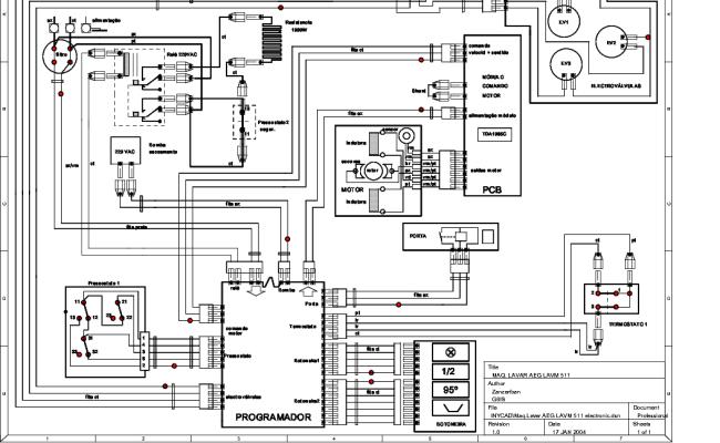 Aeg Lavamat 535 Service Manual Free Download Schematics