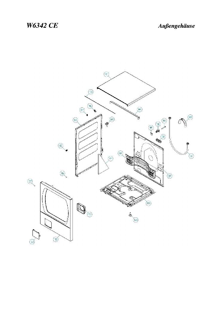 ASKO W6342 DE Service Manual download, schematics, eeprom