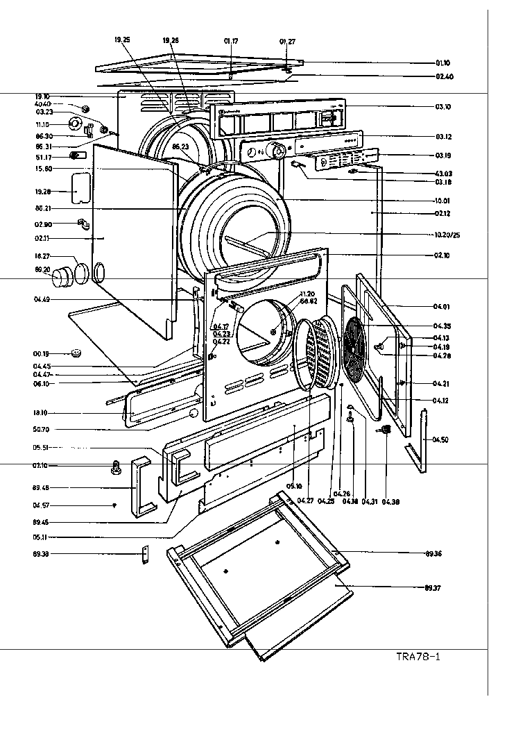 BAUKNECHT WAK 7778 2 Service Manual free download