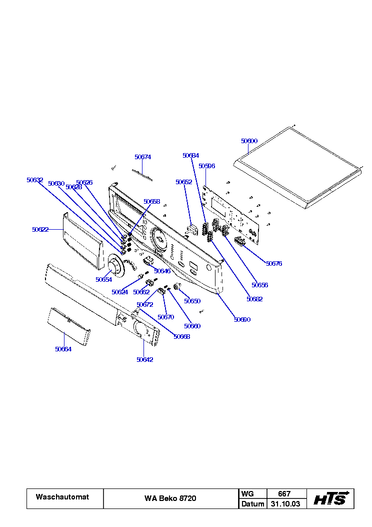 BEKO WA8720 Service Manual download, schematics, eeprom