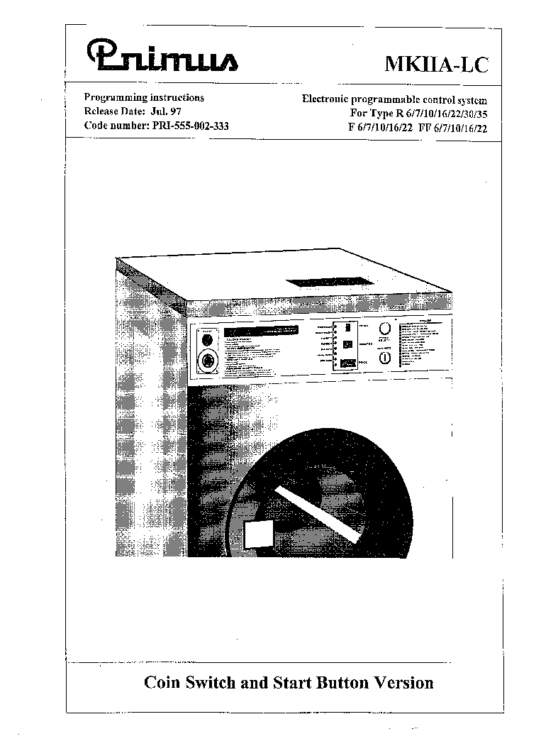 PRIMUS R6 710 16 22 30 53,F6 7 10 16 22,FF6 7 10 16 22