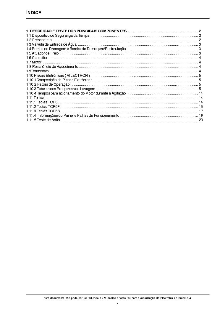 ELECTROLUX CAROLINE REV-2 SM Service Manual download
