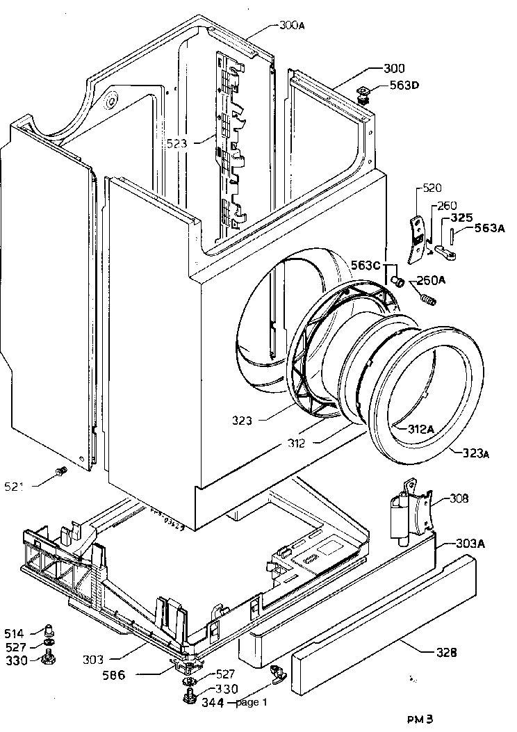ELECTROLUX EW605F Service Manual download, schematics