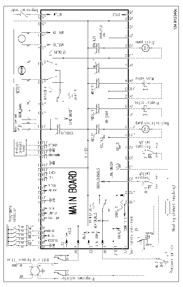 ELECTROLUX EWF1445 Service Manual download, schematics