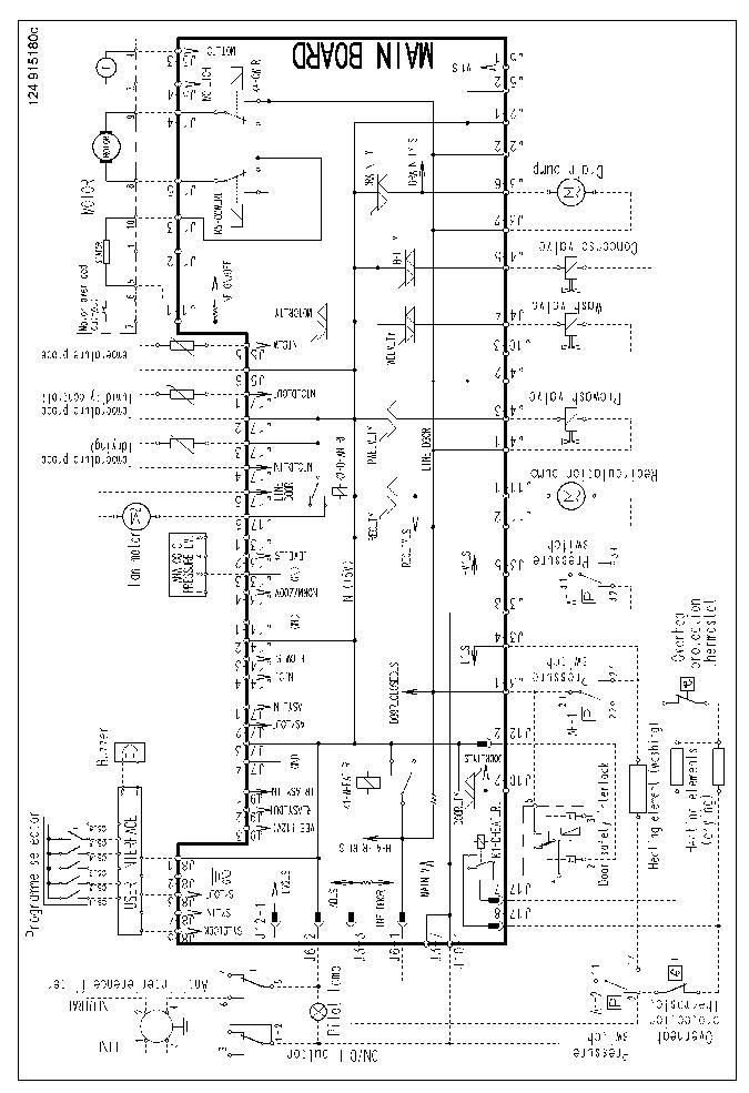 ELECTROLUX EWX1237 SCH Service Manual download, schematics