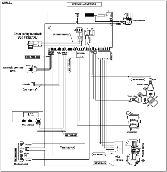 electrolux washing machine wiring diagram  volvo n12 wiring