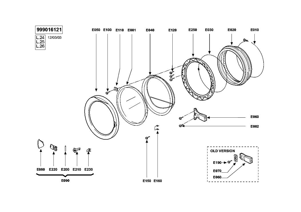 ELIN WM26AAA WIRING Service Manual download, schematics