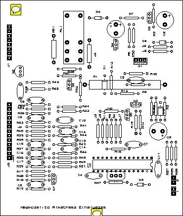 FAGOR FE-1158 SPIN99-0 1050 VEZERLO KAPCSOLASI RAJZ