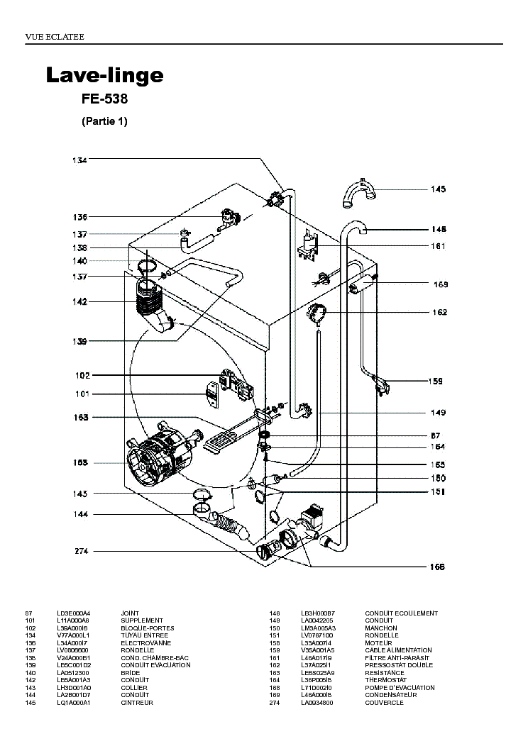 FAGOR FE538 Service Manual download, schematics, eeprom