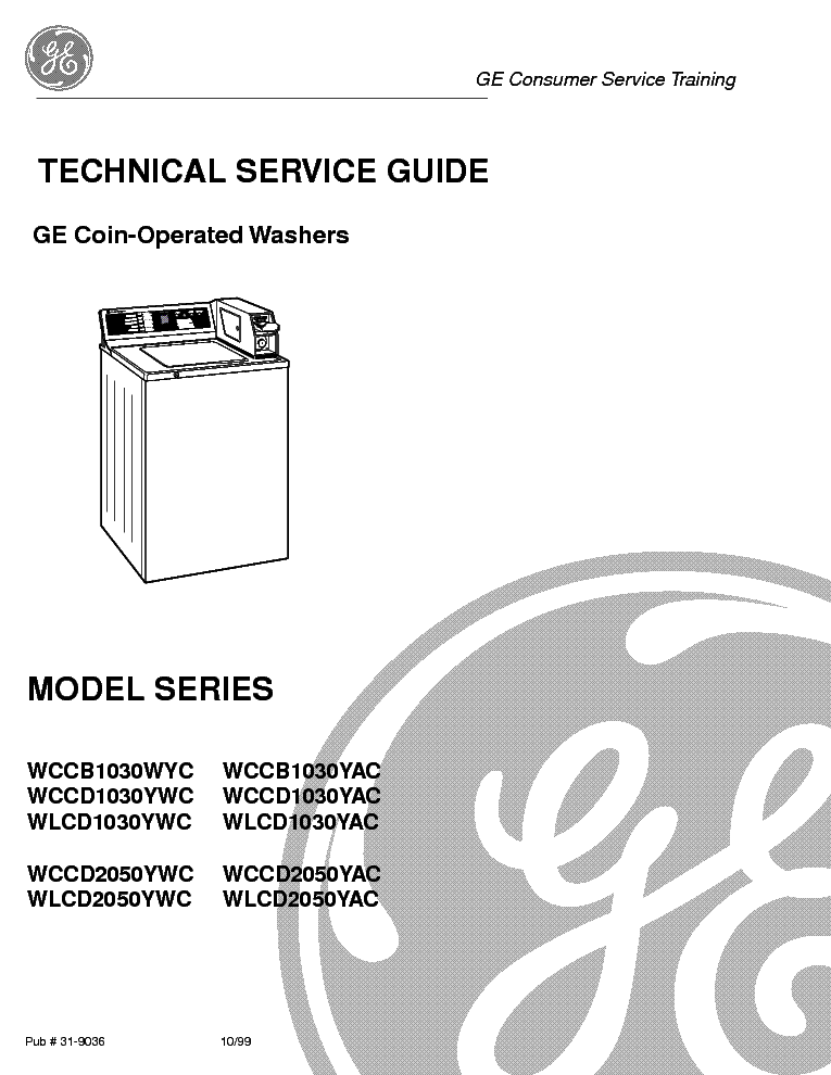 GE WBVH6240,WBVH6260,WHDV626 FRONTLOAD WASHER Service