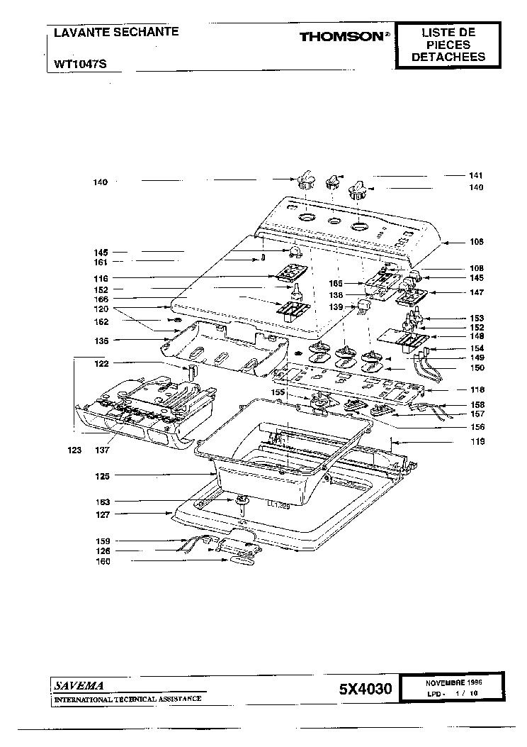 GORENJE WT1047S Service Manual download, schematics