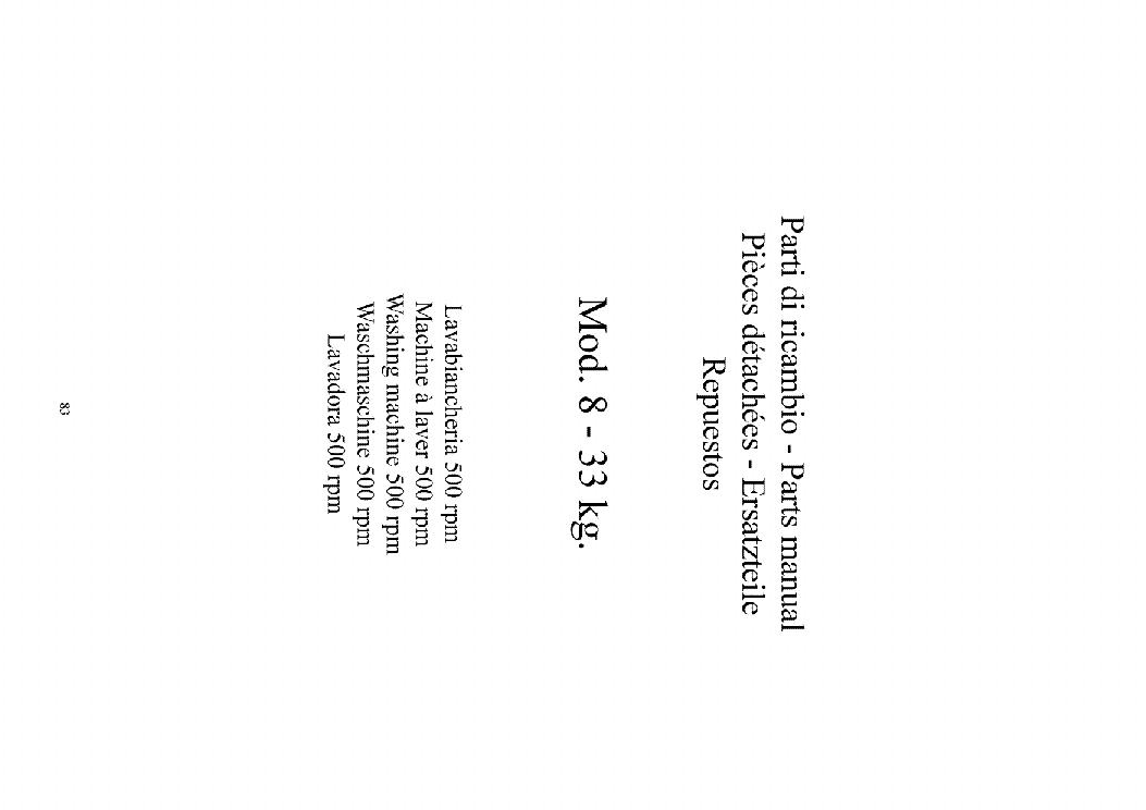 GRANDIMPIANTI WM6000 WM8000 WM11000 SERVICE MANUAL Service