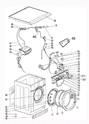 HAIER VA1600 EXPLODED VIEW Service Manual download