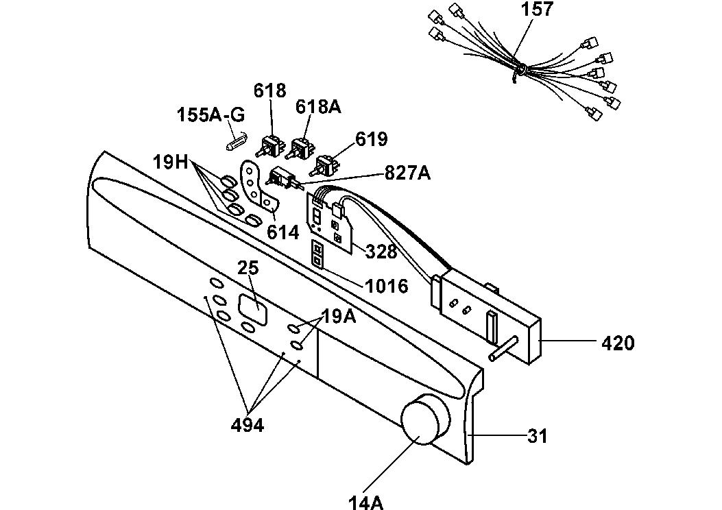 HOOVER CIC259EX Service Manual download, schematics