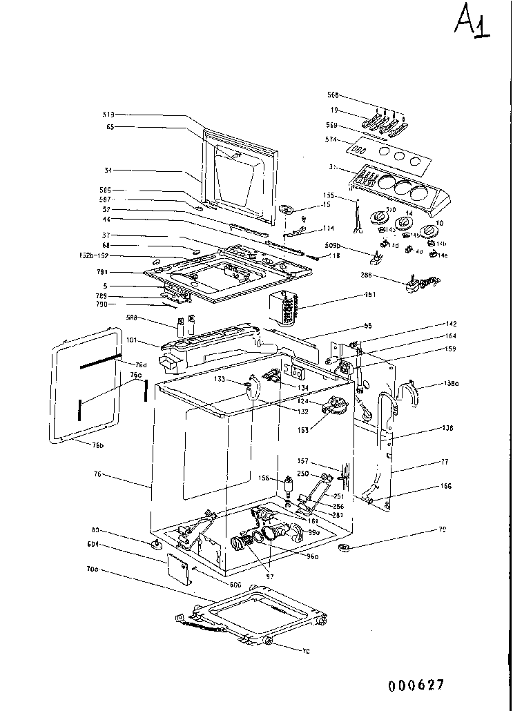 HOOVER T0500. Service Manual download, schematics, eeprom