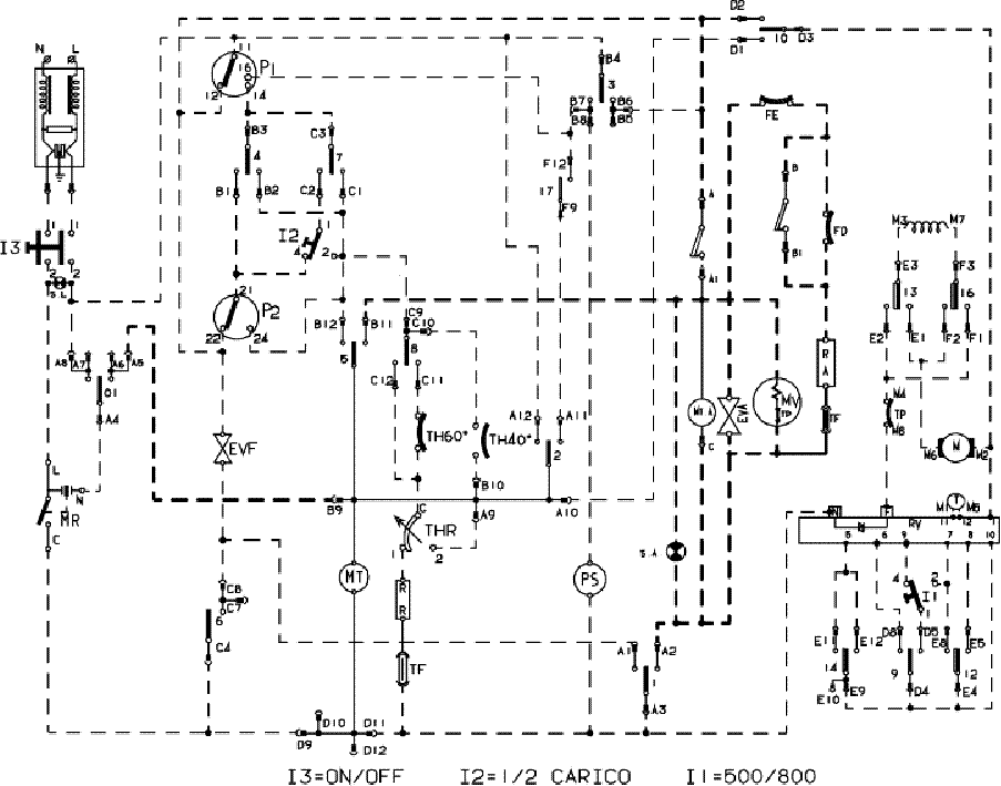 INDESIT WDN867WF Service Manual download, schematics