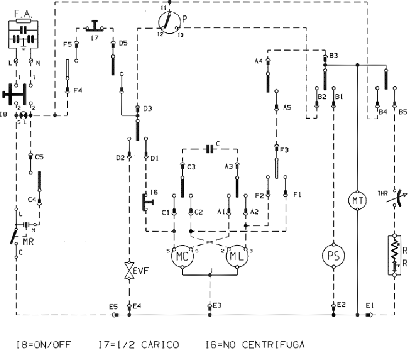 INDESIT WN-671 XWIS Service Manual download, schematics