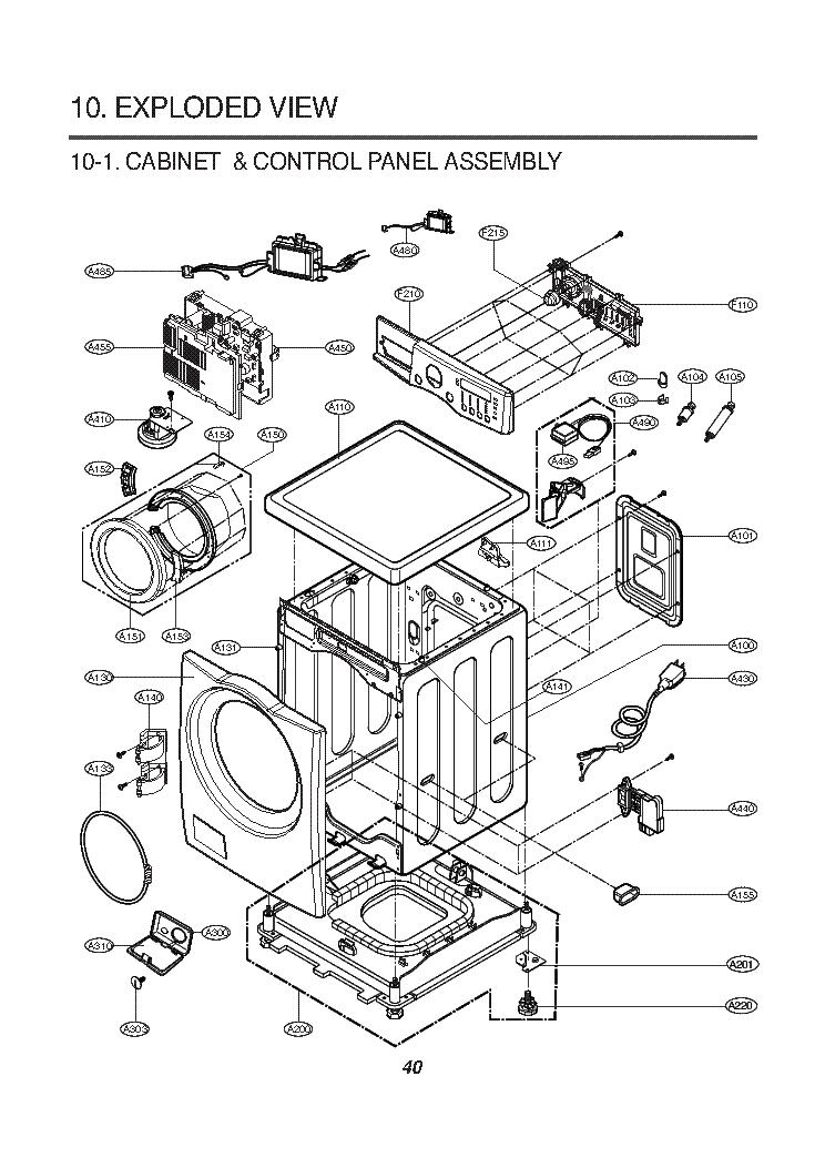LG SOLARDOM MP-9485S Service Manual free download