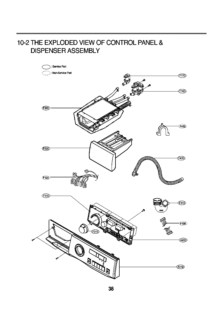 LG WD-1433RD EXPLODED VIEW Service Manual download
